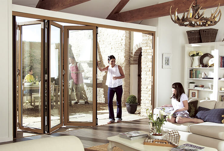 Encraft uPVC Fold N Slide Doors