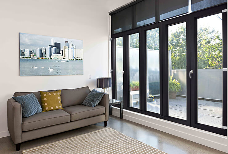 Encraft uPVC Invisi Fold Doors